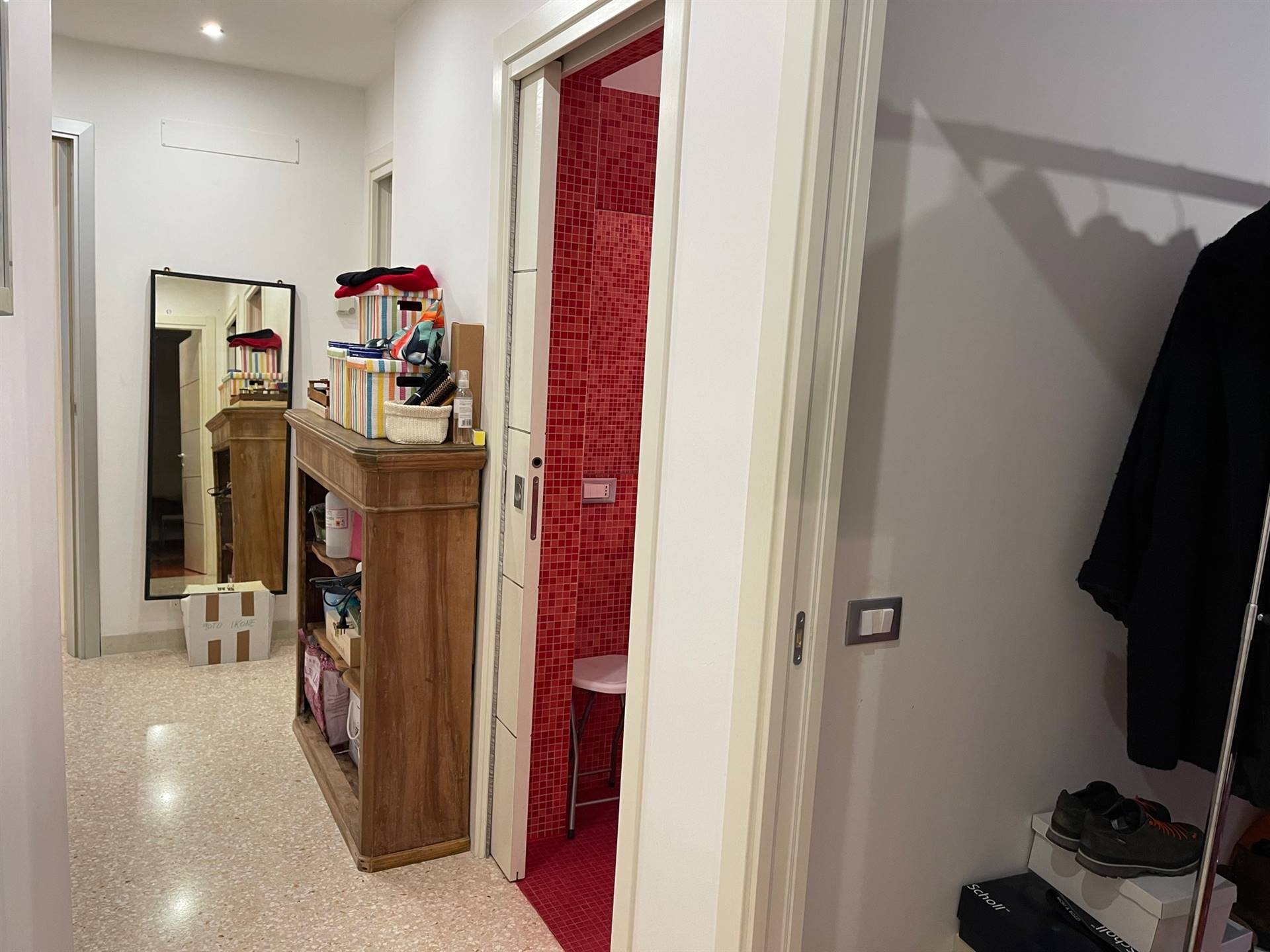 appartamento restaurato Venezia porta sola