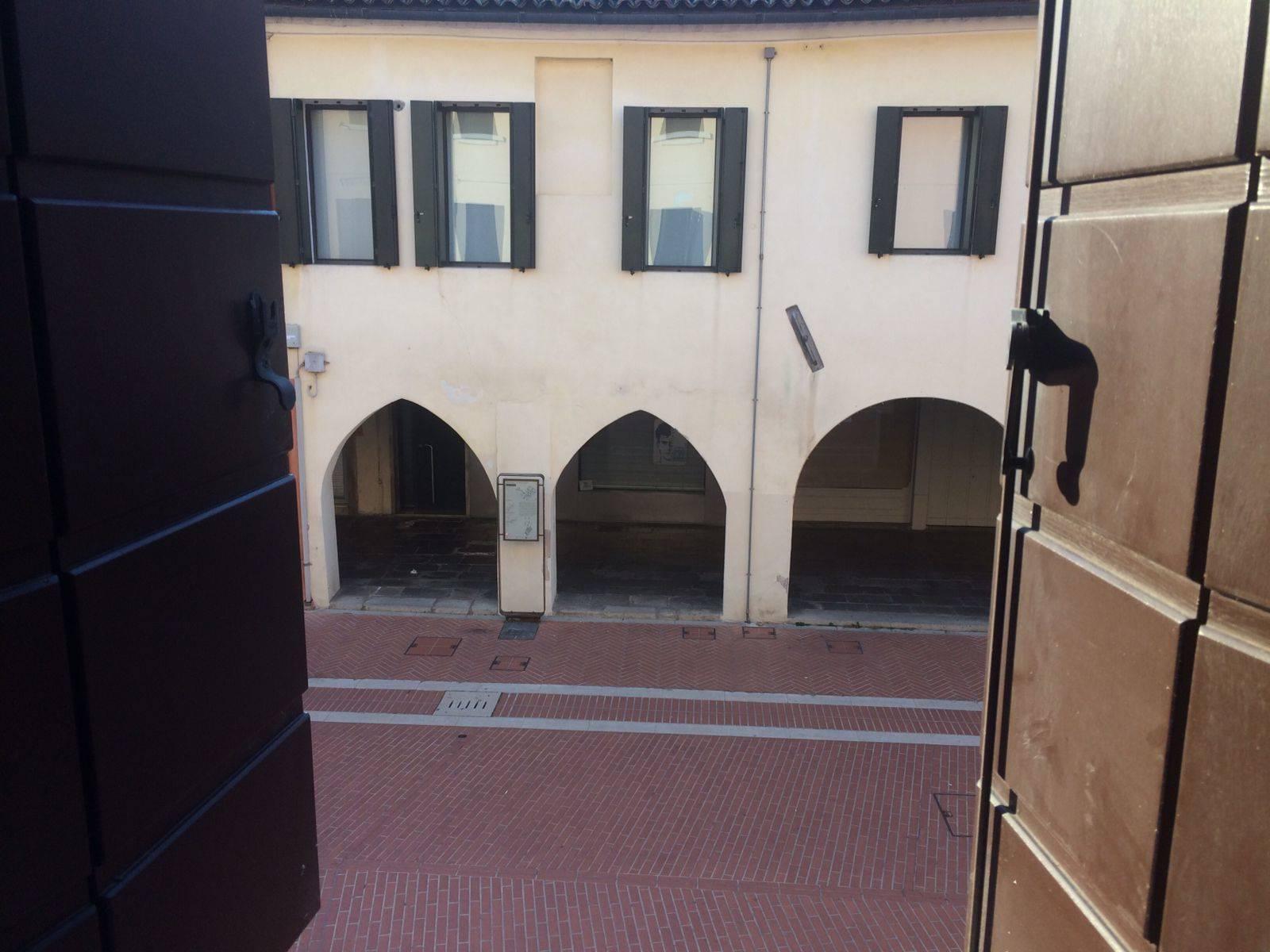 vista sulla bella  v.Palazzo appartamento Mestre