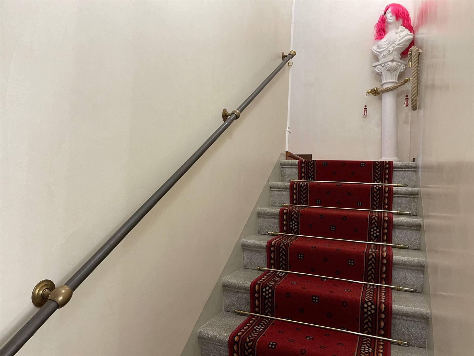vano scale appartamento su bifamiliare Mestre