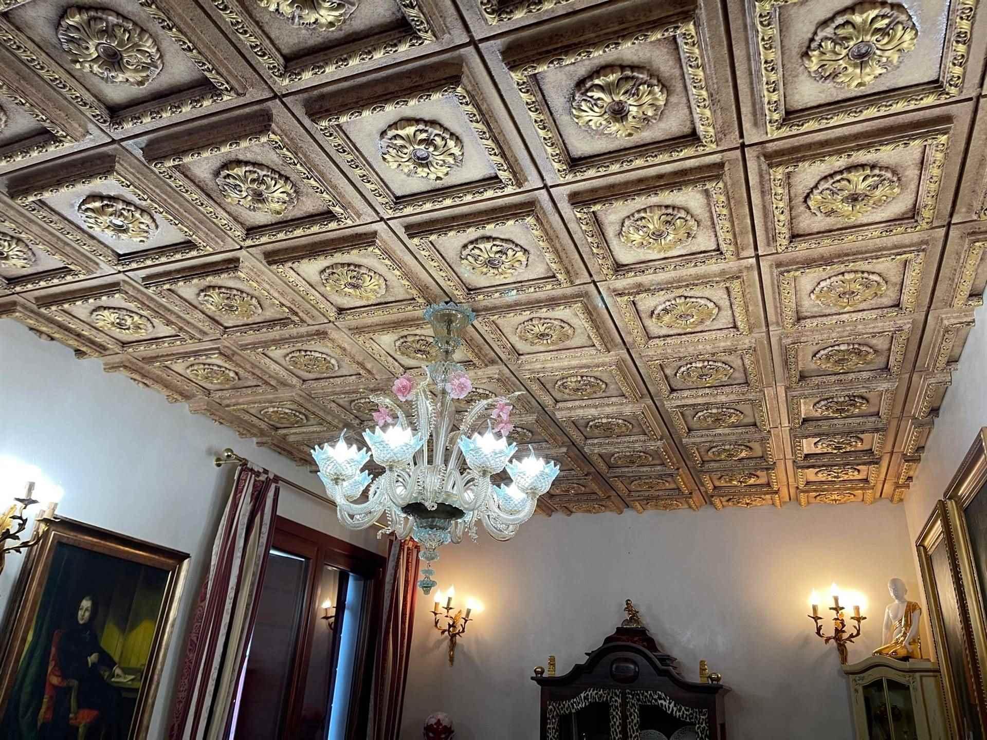 soffitto stile veneziano  bifamiliare Mestre