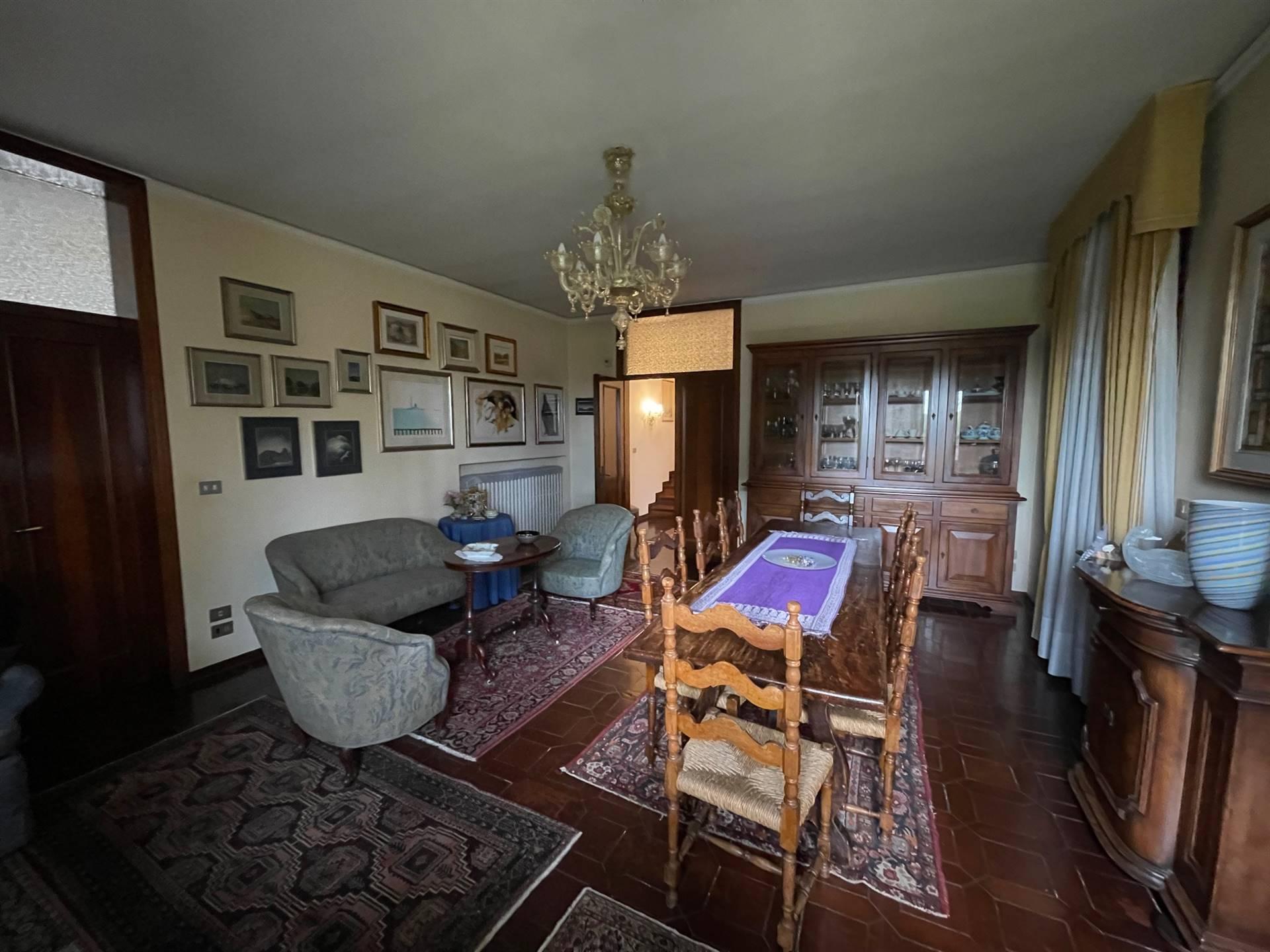 ampio soggiorno villa indipendente Zelarino