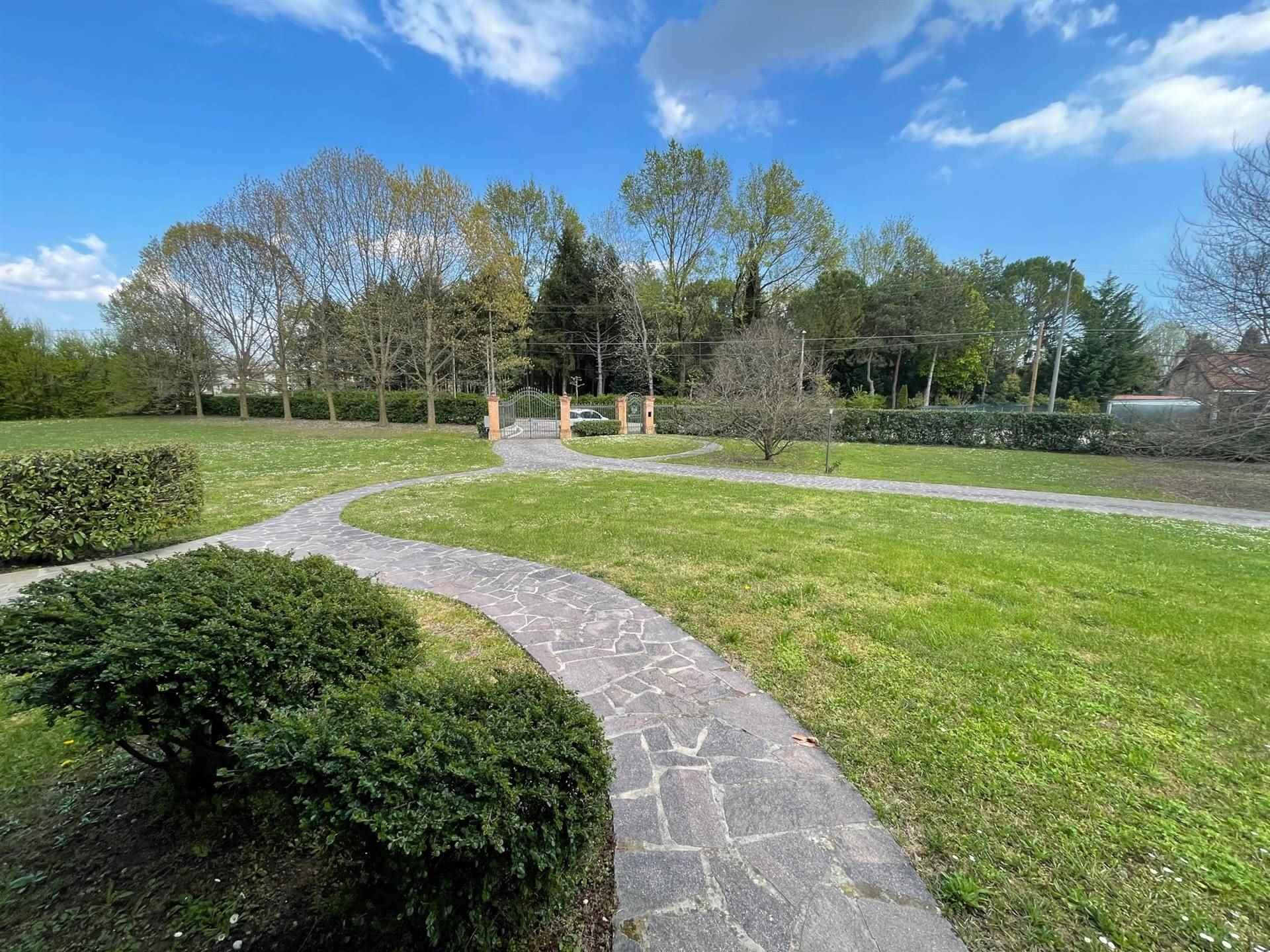 ampio parco piantumato villa vendita Zelarino