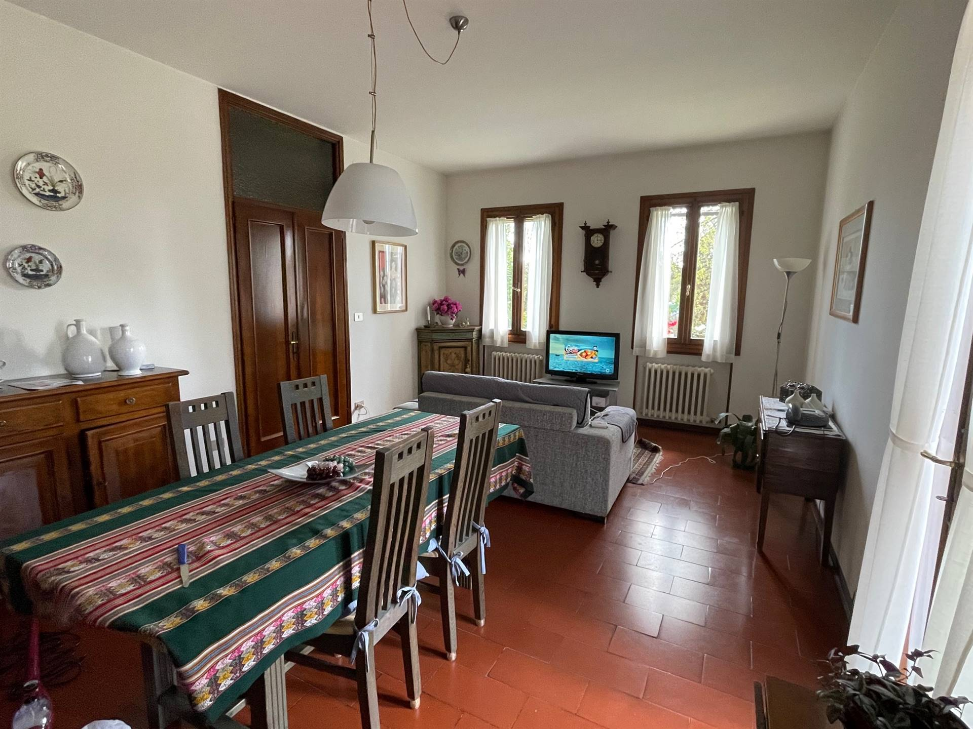 soggiorno pranzo villa in vendita Zelarino