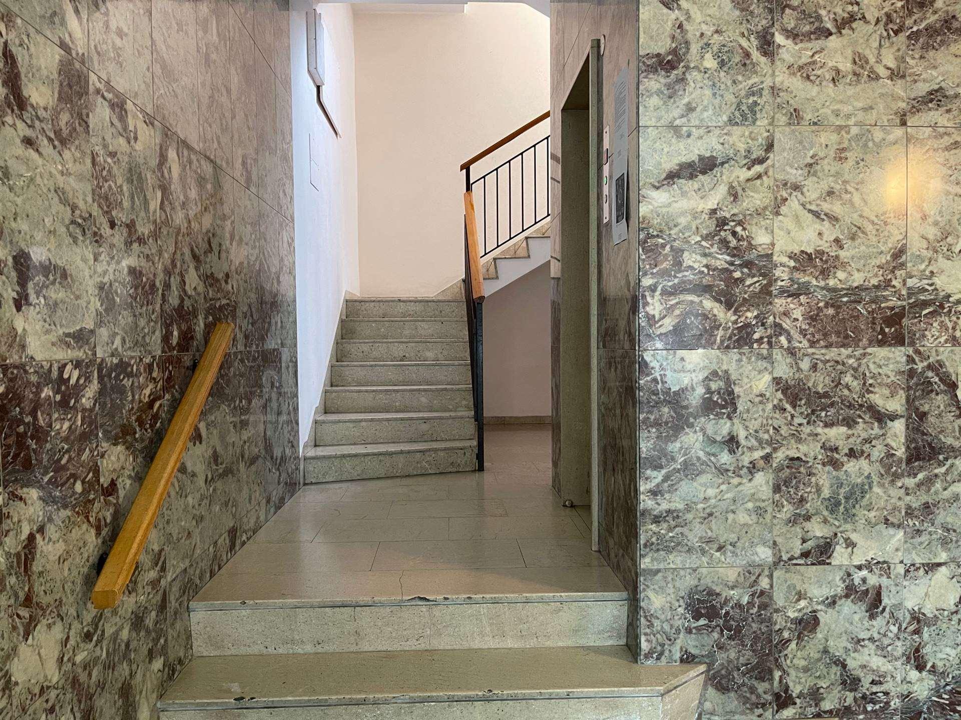 dettagli condominio di pregio in centro a Mestre