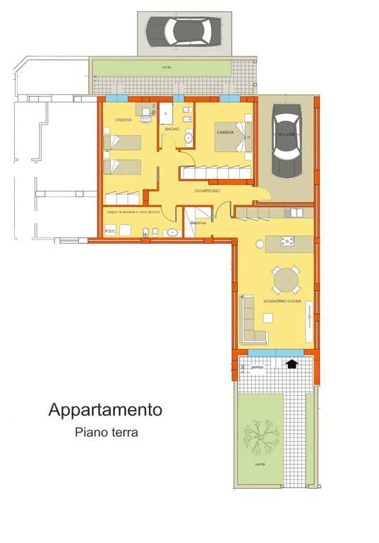 Appartamento in vendita a San Mauro Pascoli, 4 locali, prezzo € 295.000 | CambioCasa.it
