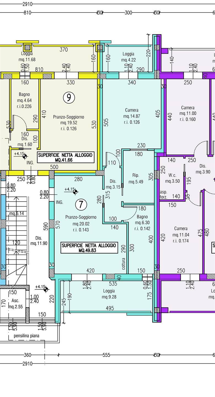 Appartamento in vendita a Savignano sul Rubicone, 3 locali, zona Zona: Valle Ferrovia, prezzo € 130.000 | CambioCasa.it