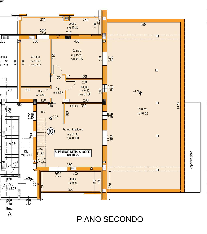 Appartamento in vendita a Savignano sul Rubicone, 3 locali, zona Zona: Valle Ferrovia, prezzo € 270.000 | CambioCasa.it