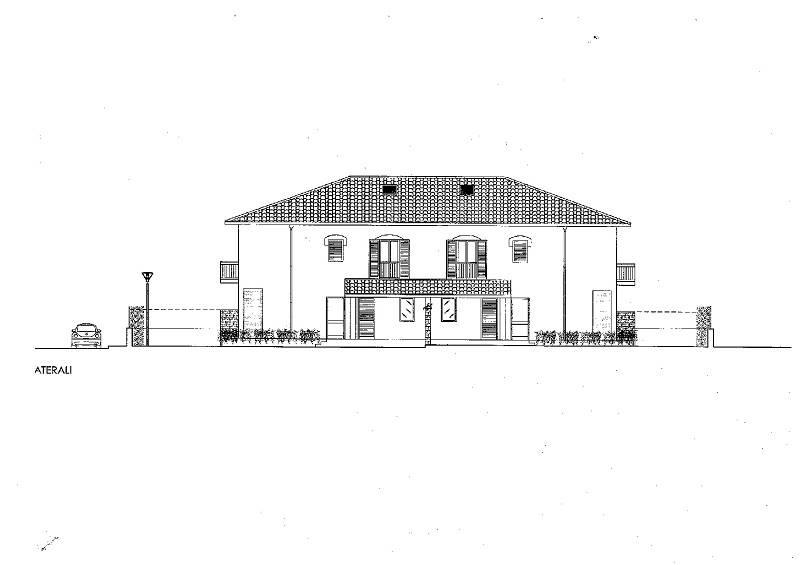 Bifamiliare in Via Calarossa, Terrasini