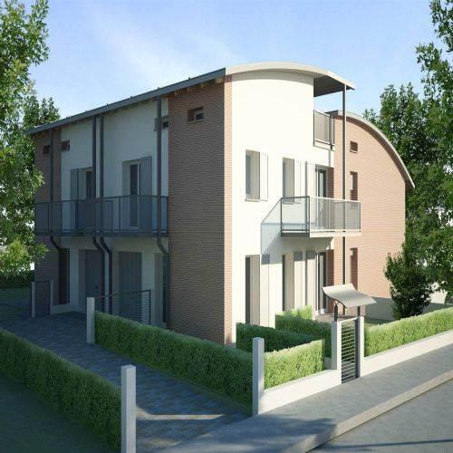 Villa a schiera, Nonantola, in nuova costruzione
