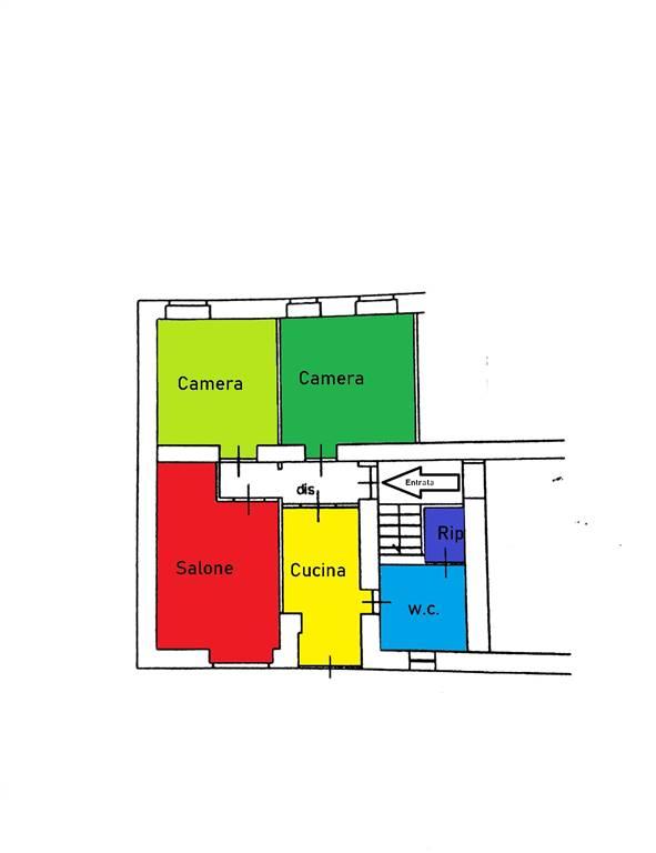 Appartamento in vendita a Cava de' Tirreni, 4 locali, zona Località: PREGIATO, prezzo € 85.000 | CambioCasa.it