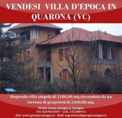 Casa semi indipendente, Quarona