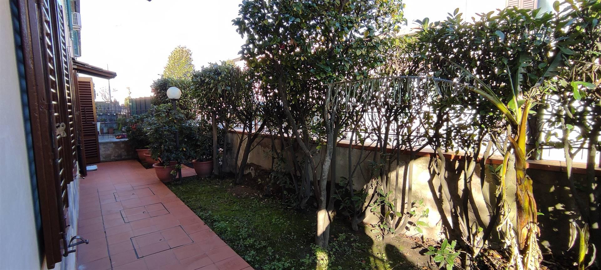 Il giardino frontale