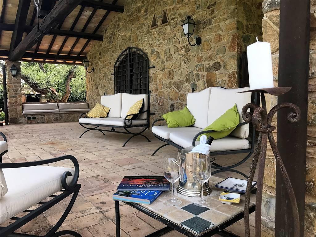 Villa con piscina Capalbio