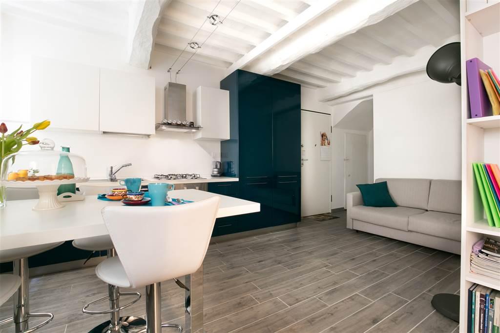 Appartamento dal tocco fresco e giovanile ideale per soggiorni brevi a Siena, posto in una delle vie più caratteristiche del centro storico di Siena,