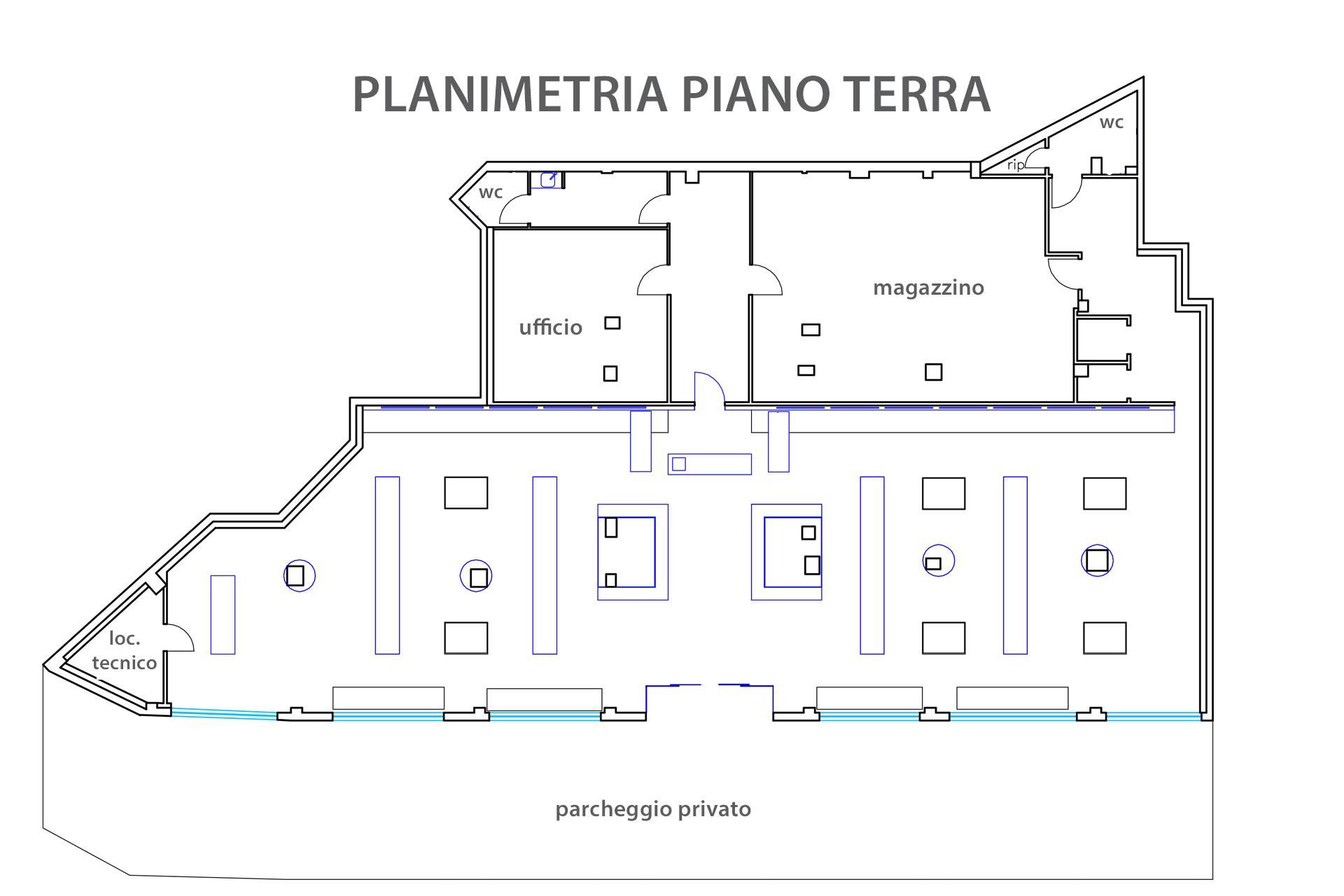 F110 planimetria