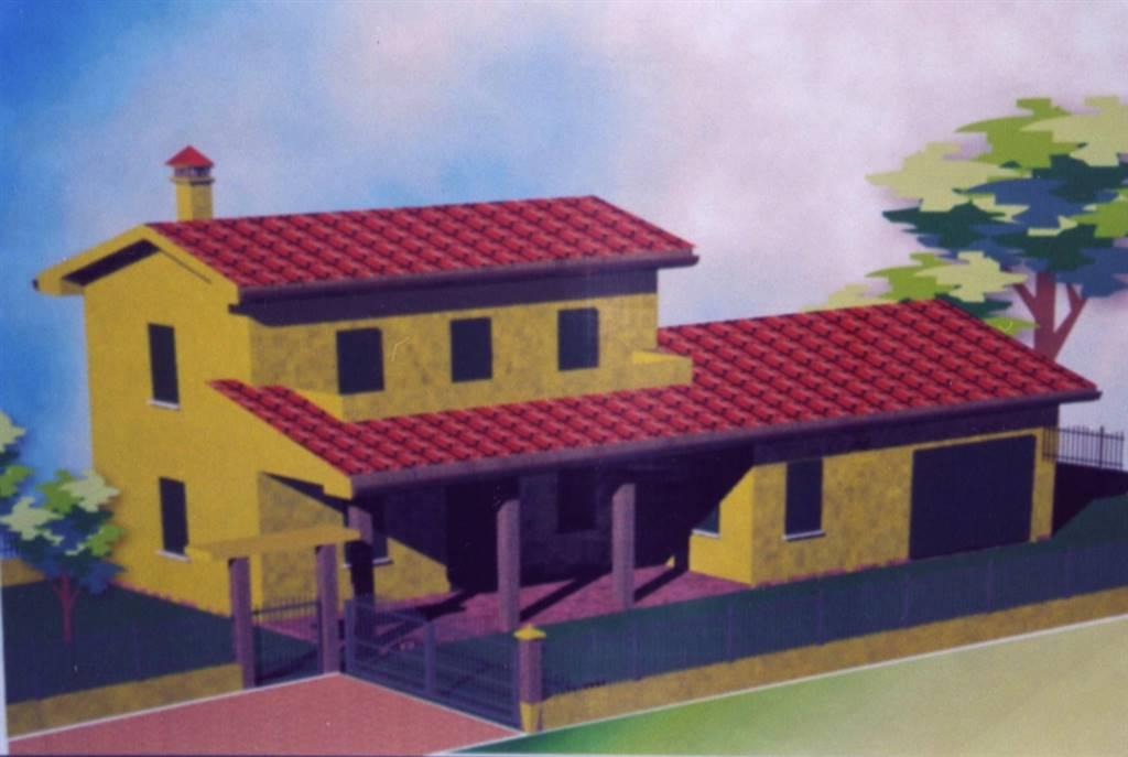 Rif. B59 CAVANELLA D'ADIGE - Casa singola in ristrutturazione al grezzo disposta su due livelli composta da: al piano terra troviamo un ampio e