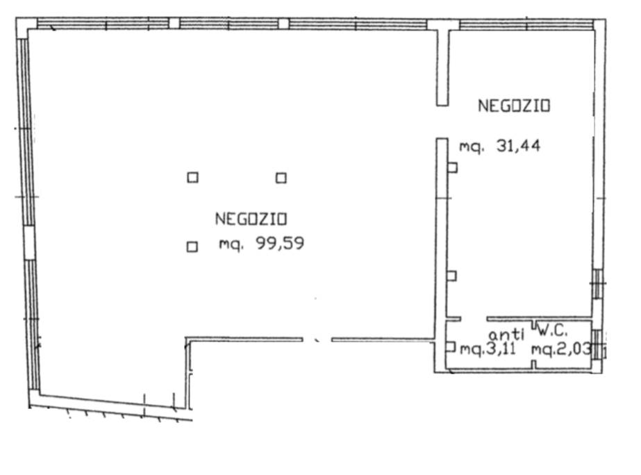 SOTTOMARINA, CHIOGGIA, Shop for rent of 136 Sq. mt., Restored, Heating Individual heating system, Energetic class: G, placed at Ground, composed by: