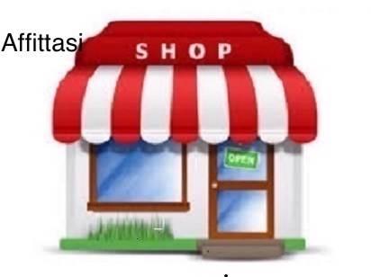 Rif. B148 SOTTOMARINA CENTRO: Affittasi negozio in centro, con stanza e bagno. Mq 40.