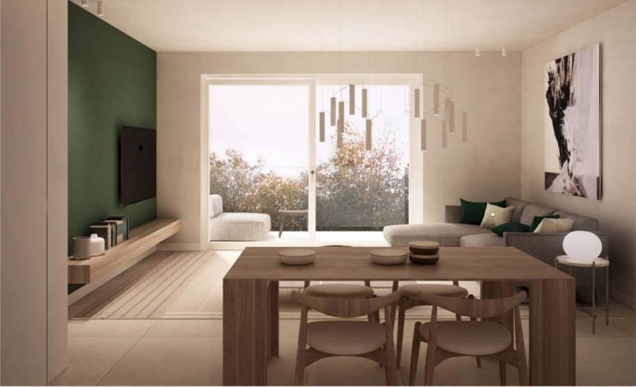 Rif. B235 SOTTOMARINA, NUOVA COSTRUZIONE: In una palazzina di 18 unità, con garage a livello terra di 15 mq, vendesi appartamento al piano secondo di