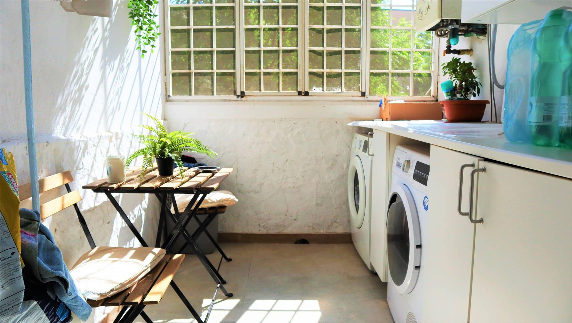 balcone - locale lavanderia