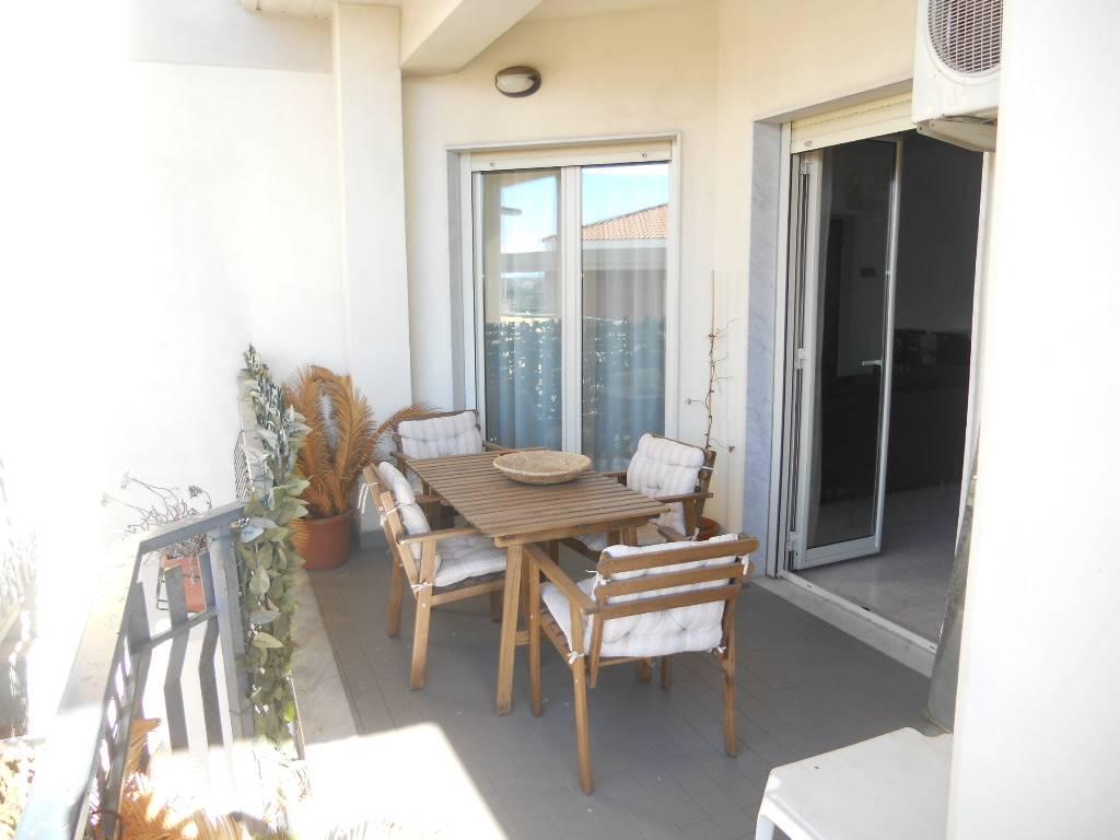 balcone terrazzato lato soggiorno di 12 mq