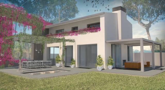 New construction in FORTE DEI MARMI 250 Sq. mt. | 7 Rooms | Garden 600 Sq. mt.