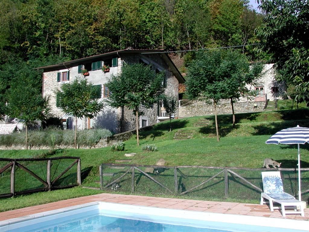 Vista laterale con piscina