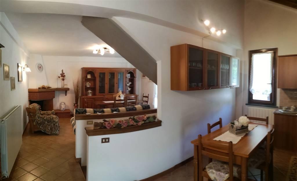 Vista cucina-soggiorno