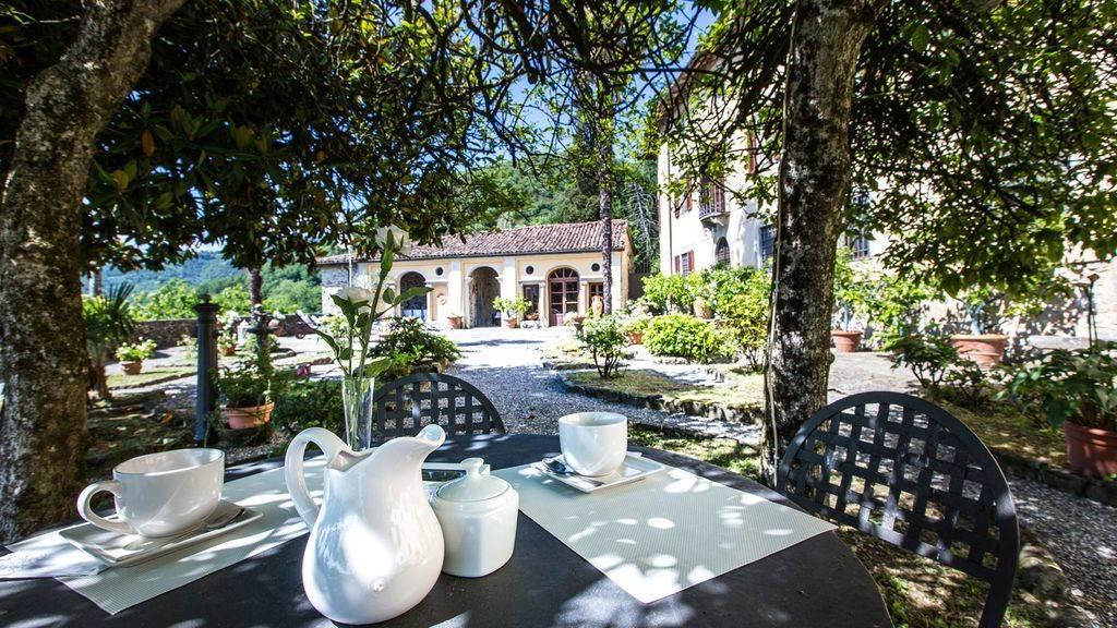 L'area colazioni - The breakfast area