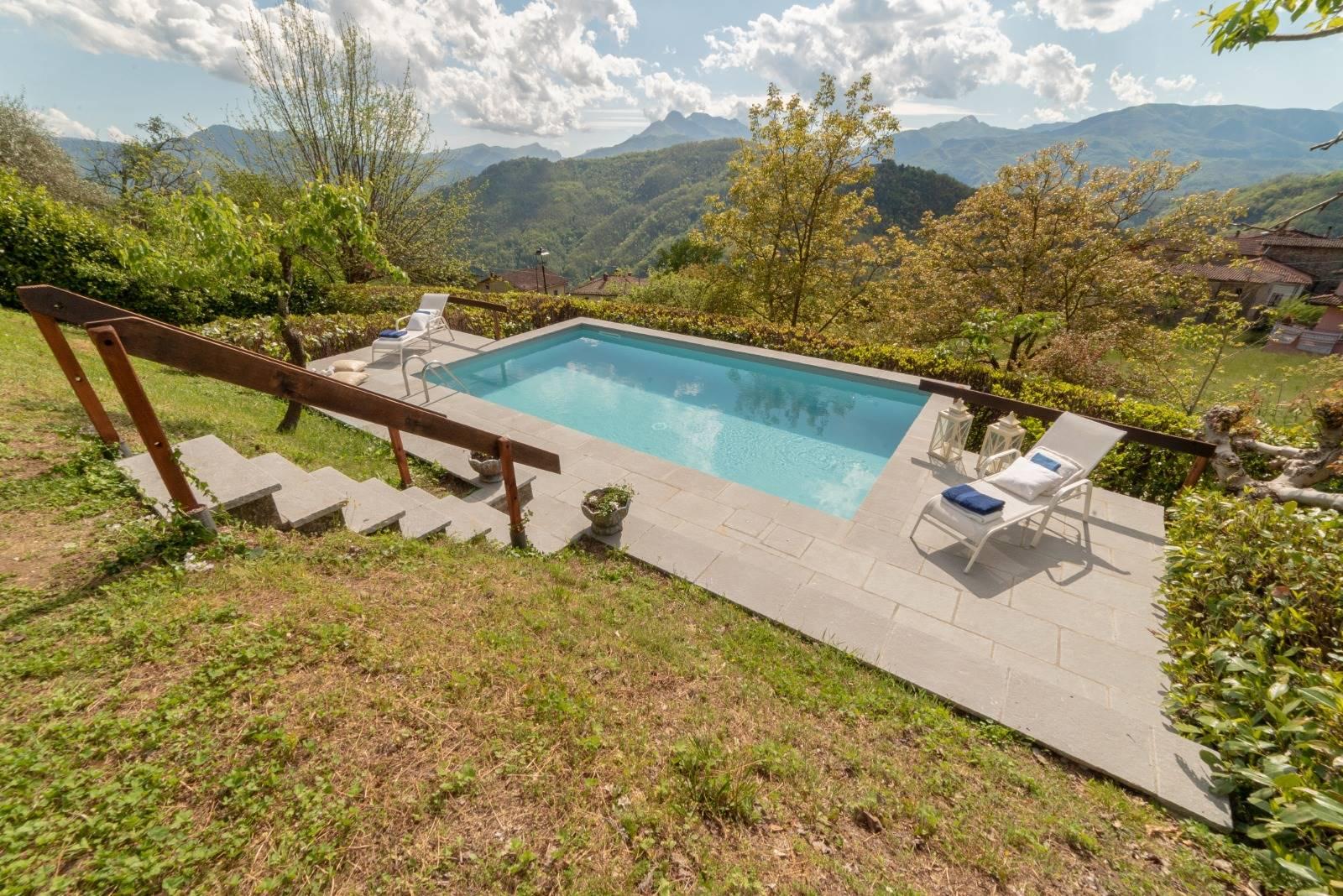 Accesso all'area piscina - Access to the pool area