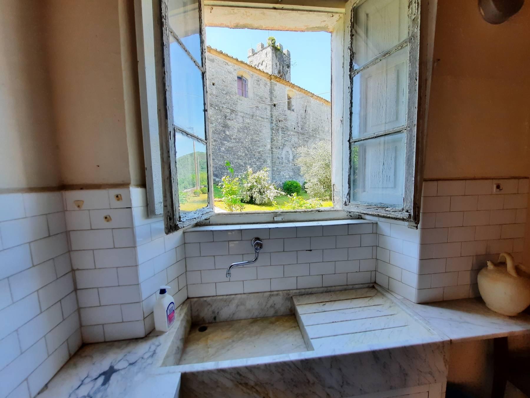 Vista dalla cucina - View from the kitchen