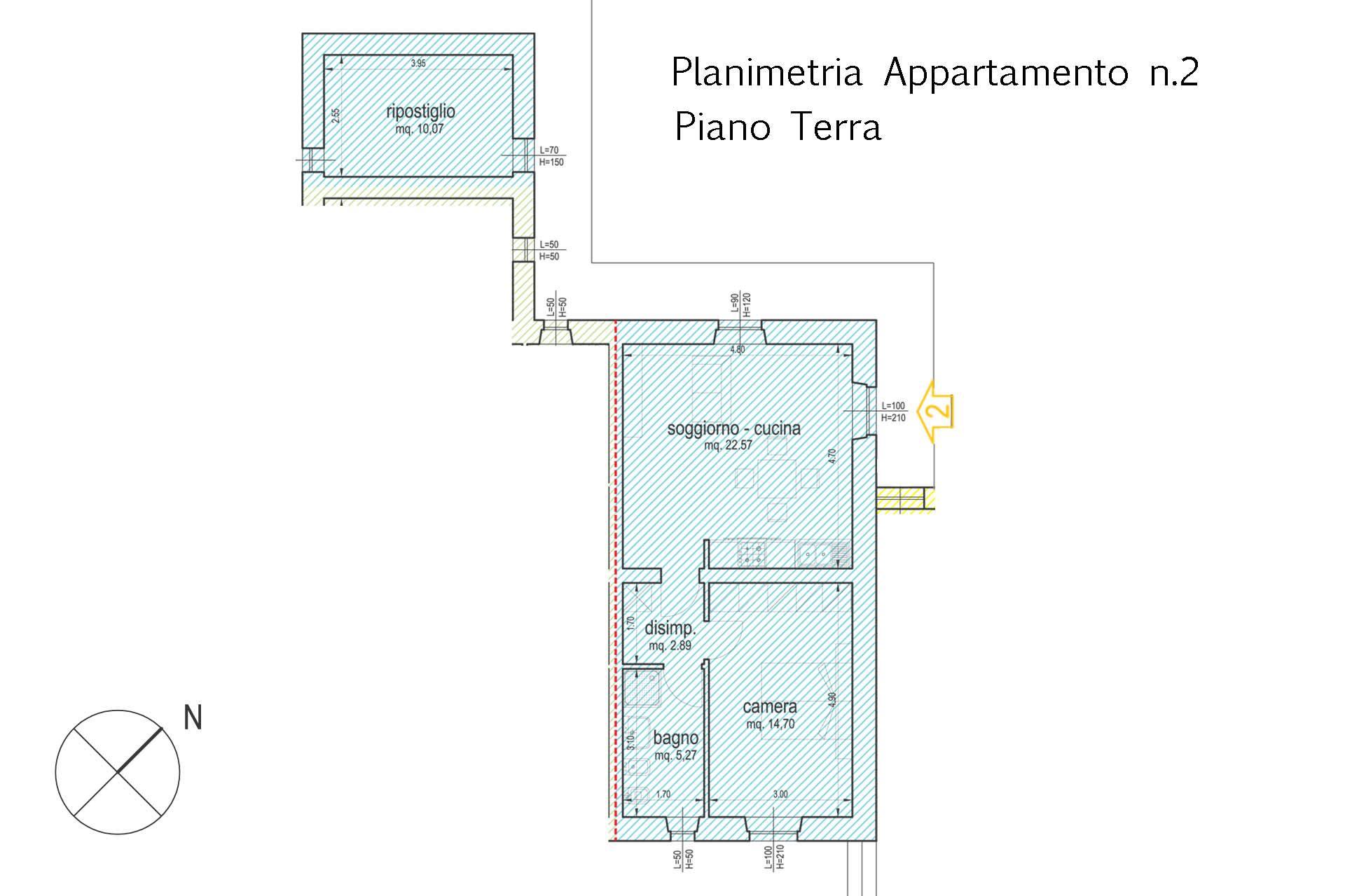 3893_planimetria quotata