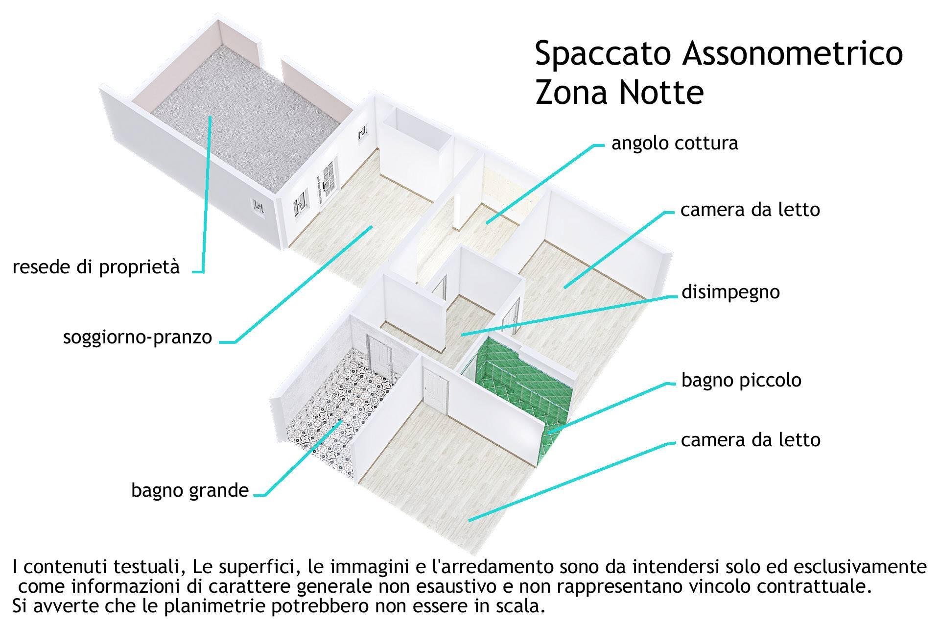 6re01_Spaccato assonometrico zona notte1
