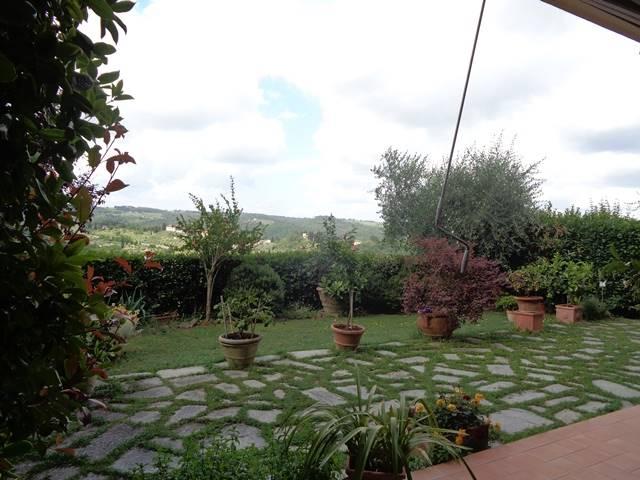 giardino e vista panoramica