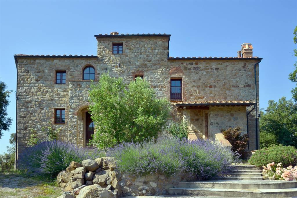 Villa, Micciano, Pomarance, ristrutturata