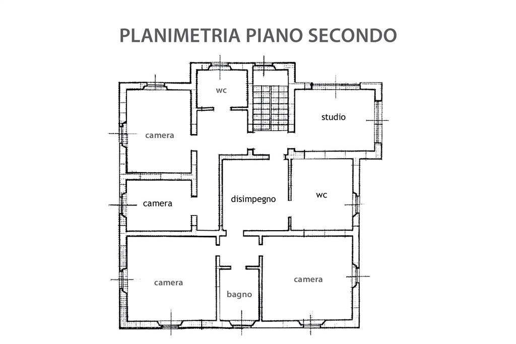 R03-planimetria p. secondo