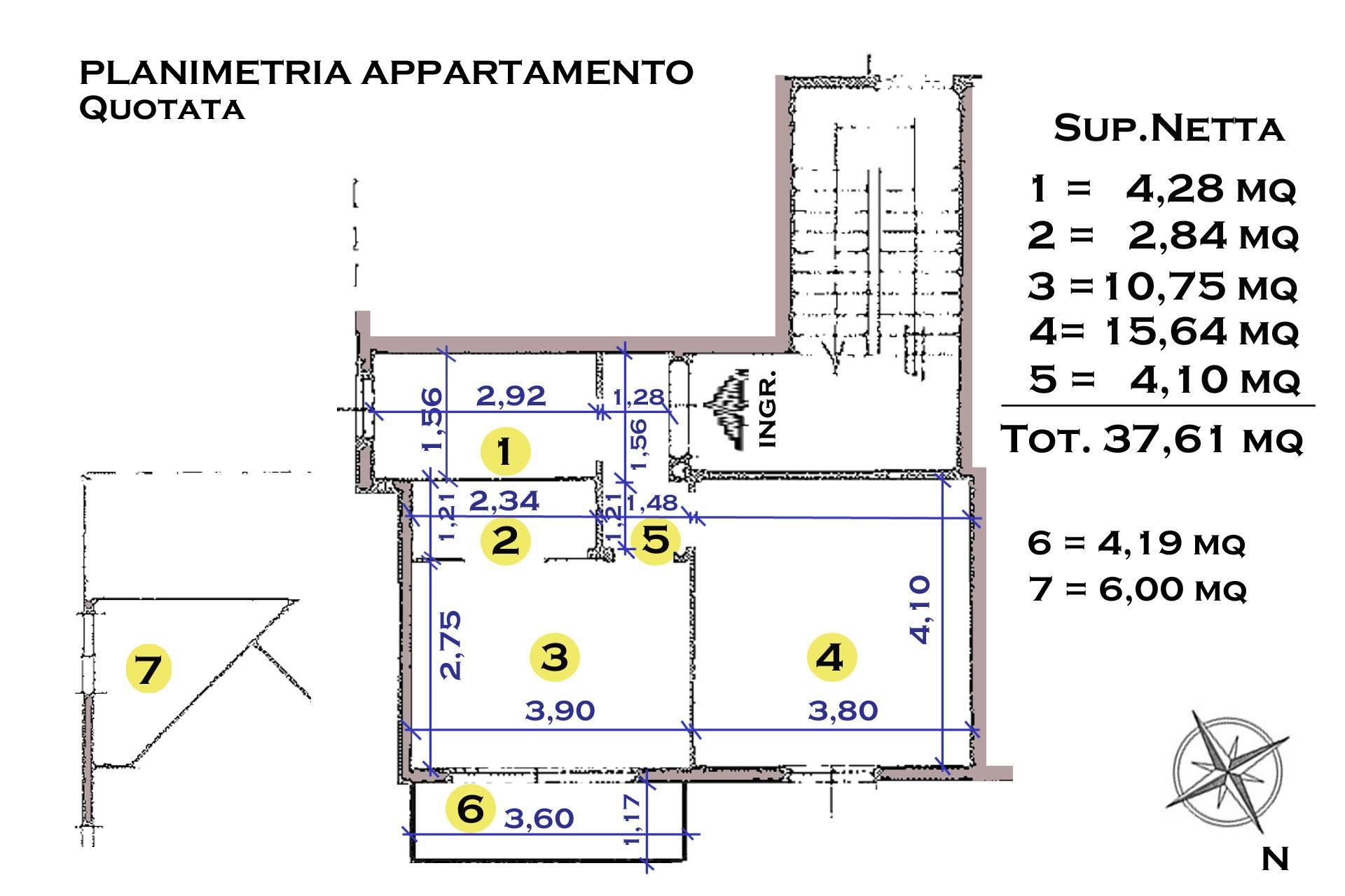 R/46-planimetria  quotata