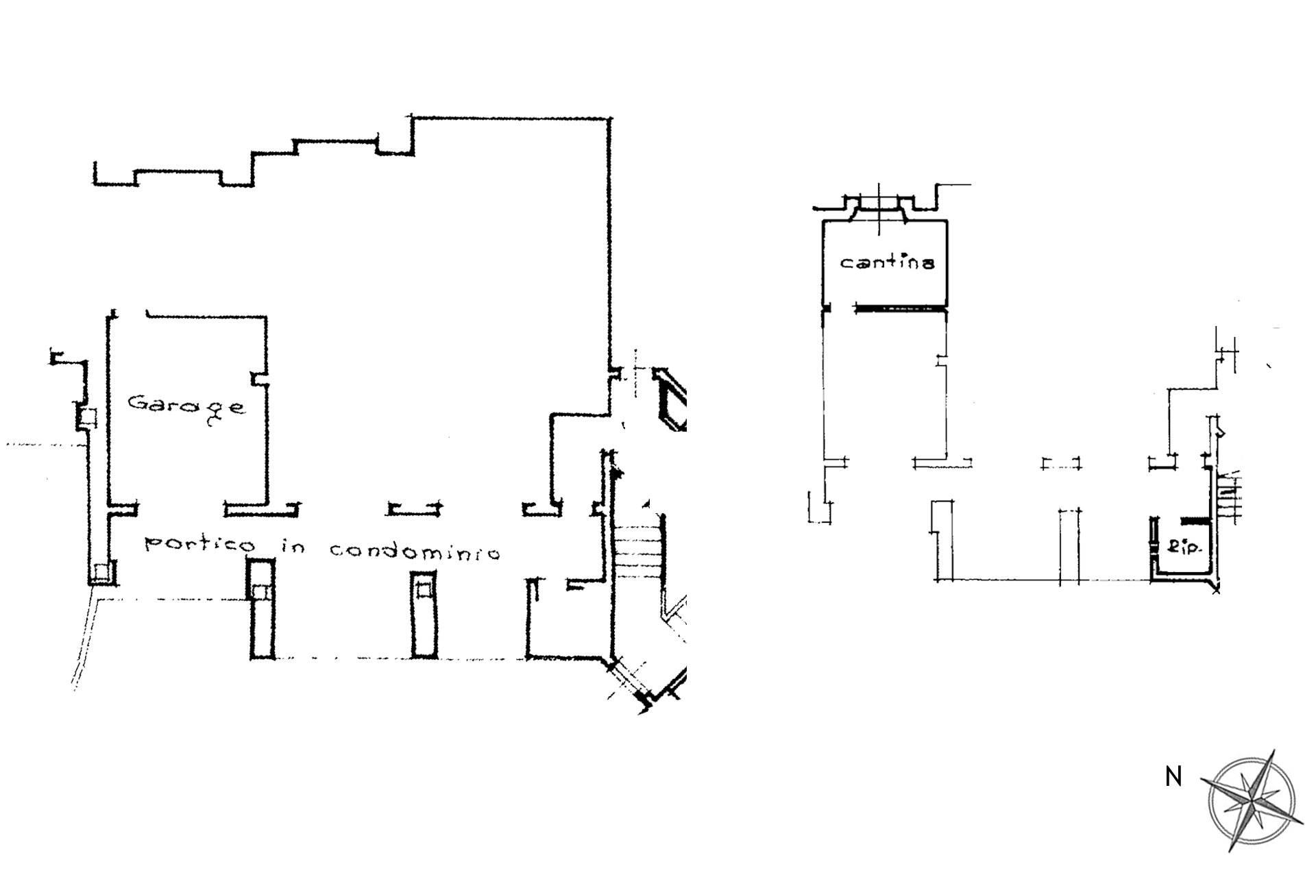 plan garage e cantina
