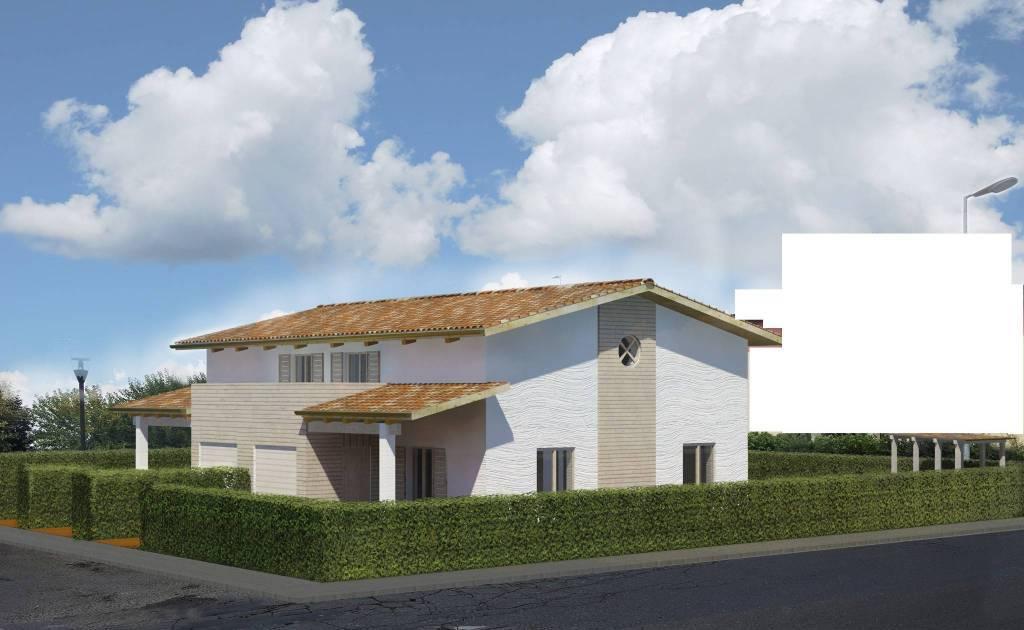 Villa, Alberi, Parma, in nuova costruzione