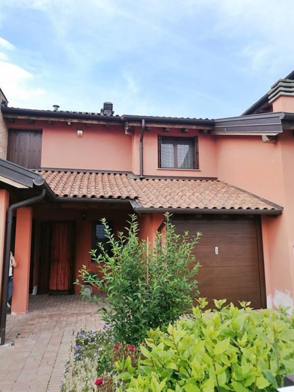 Villa a schiera, Bogolese, Sorbolo