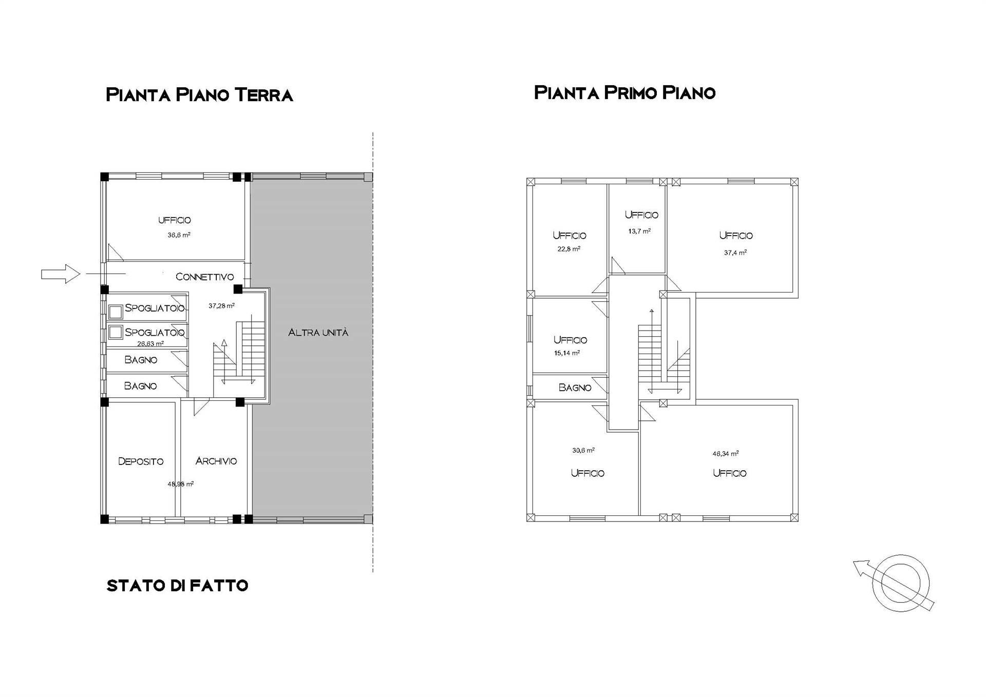 Ufficio / Studio in affitto a Figline Vegliaturo, 9 locali, zona Zona: Piano Lago, prezzo € 650   CambioCasa.it