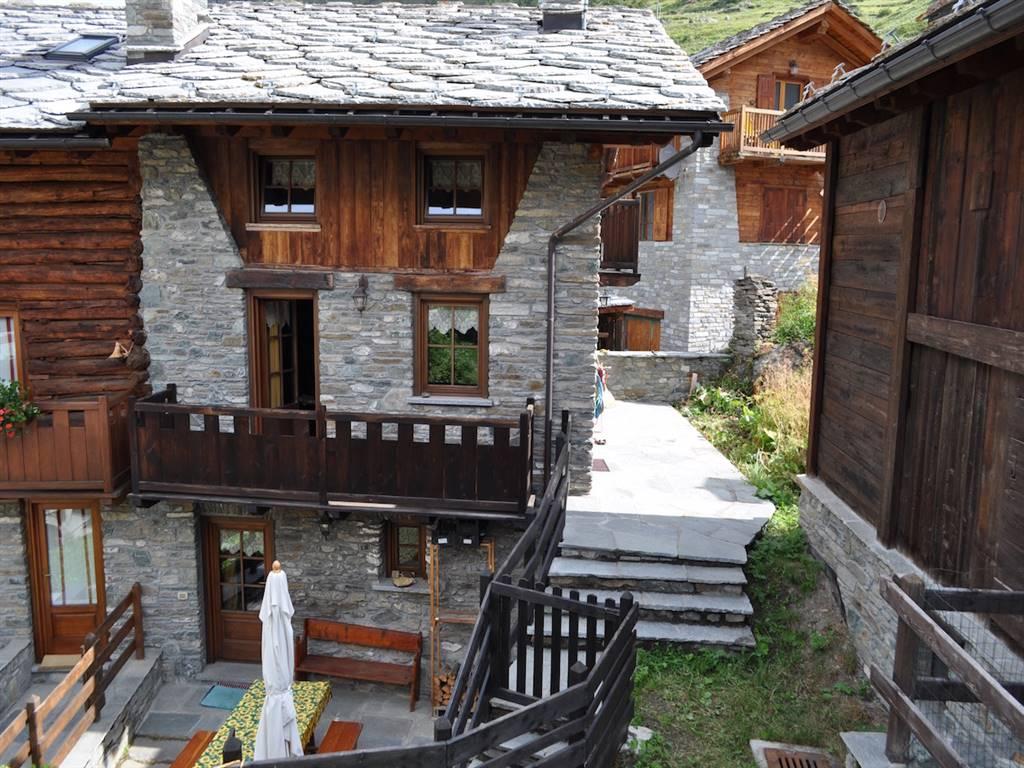 Casa semi indipendente, Valsavarenche, ristrutturato