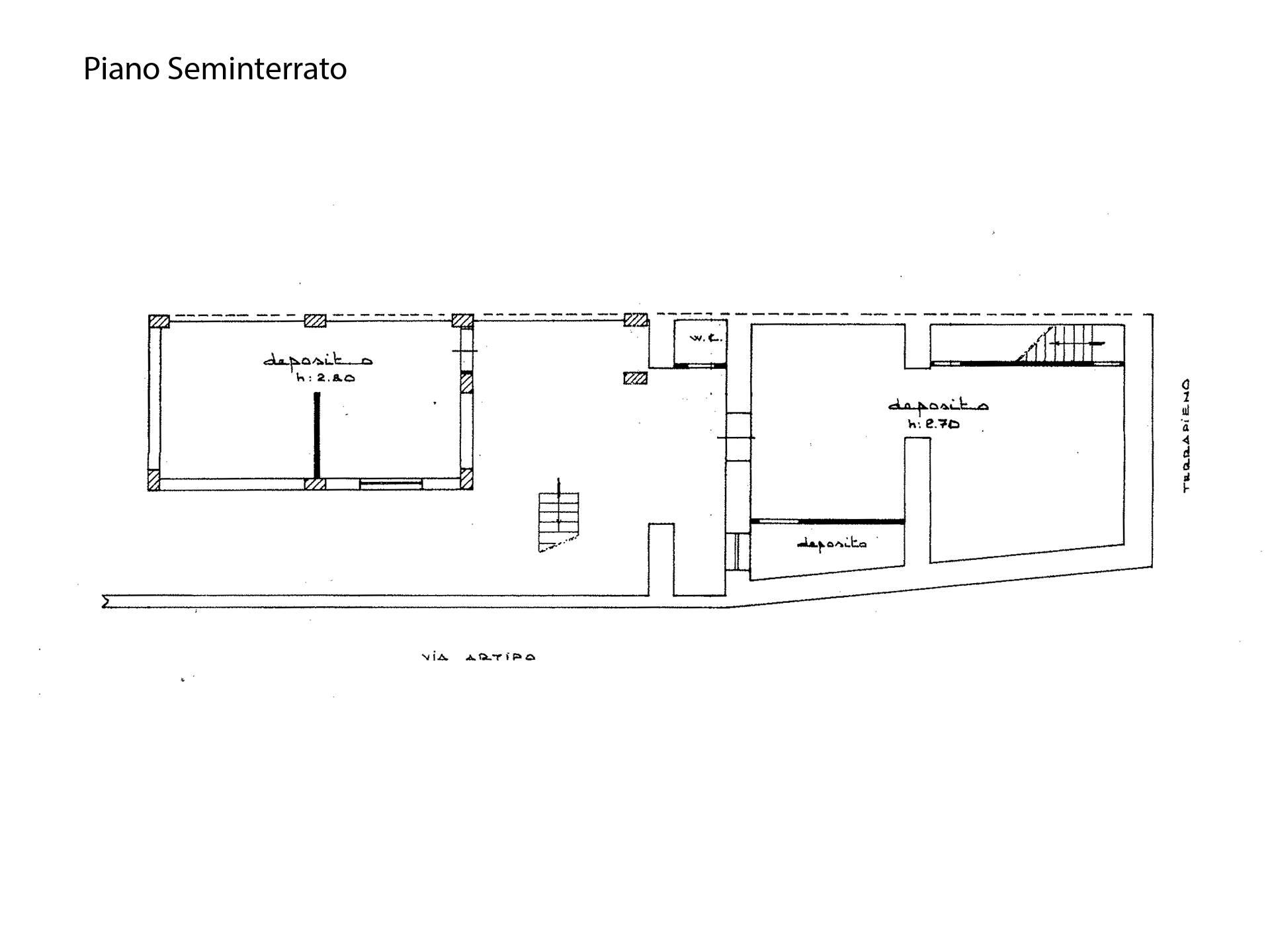 Planimetria Piano S1
