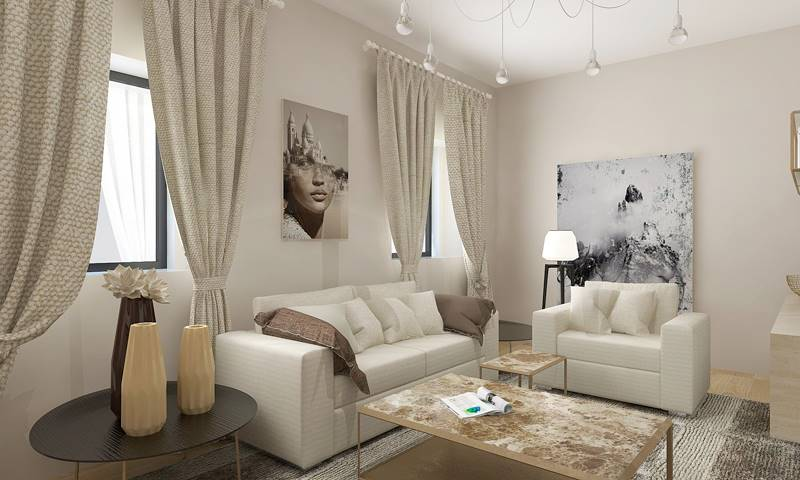 CIRCONDARIA, FIRENZE, Apartment for sale of 61 Sq. mt., Restored, Heating Centralized, placed at Ground on 8, composed by: 2 Rooms, Kitchenette, , 1