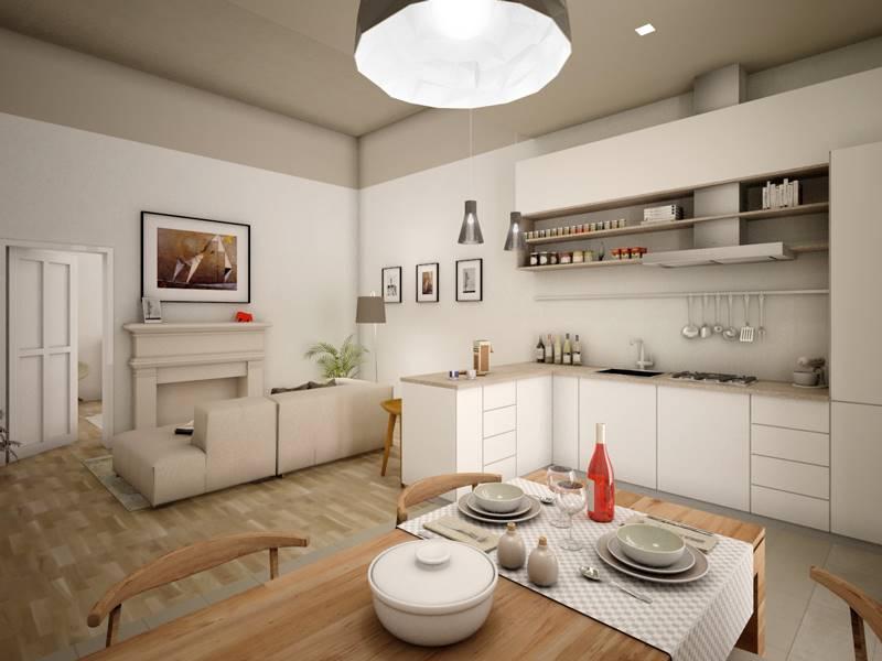EUROPA, FIRENZE, Appartamento in vendita di 58 Mq, Ristrutturato, Riscaldamento Centralizzato, posto al piano 3° su 5, composto da: 2 Vani, Angolo