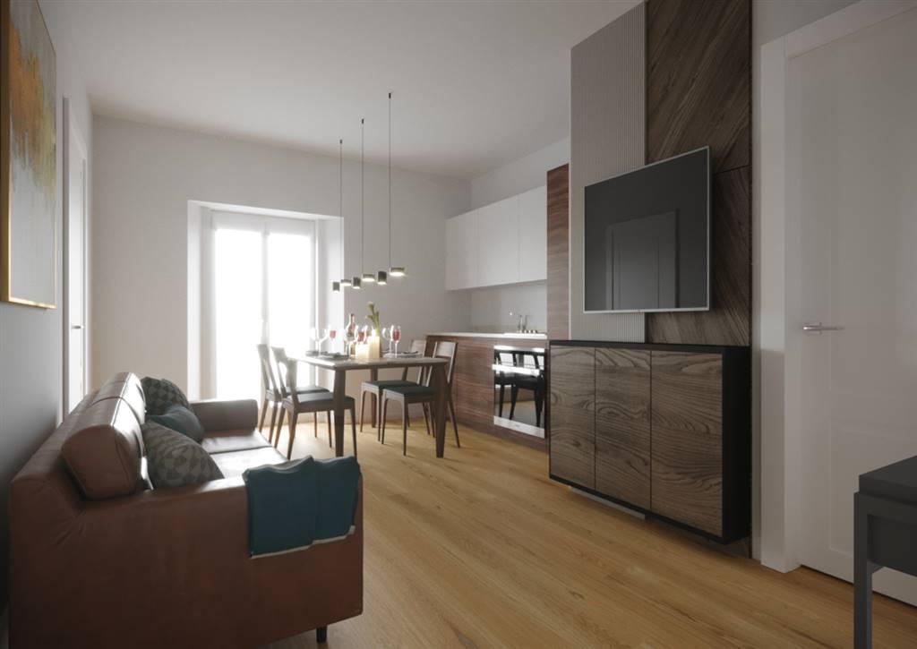 EUROPA, FIRENZE, Appartamento in vendita di 63 Mq, Ristrutturato, Riscaldamento Centralizzato, posto al piano 3° su 5, composto da: 3 Vani, Angolo