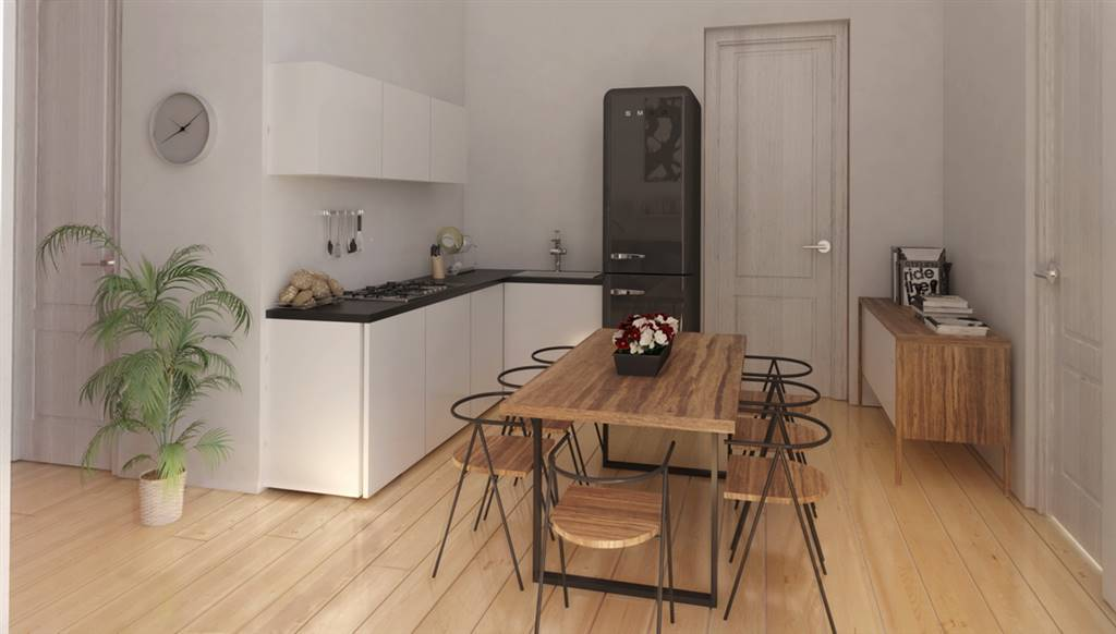 RONDINELLA, FIRENZE, Apartment for sale of 45 Sq. mt., Restored, Heating Centralized, placed at 1° on 3, composed by: 2 Rooms, Kitchenette, , 1