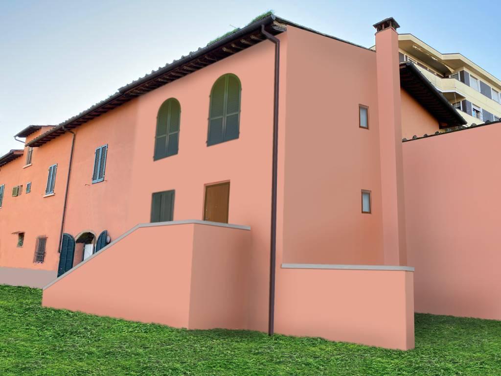 CINTOIA, FIRENZE, Terratetto in vendita di 86 Mq, Ristrutturato, Riscaldamento Autonomo, posto al piano Rialzato su 1, composto da: 3 Vani, Angolo