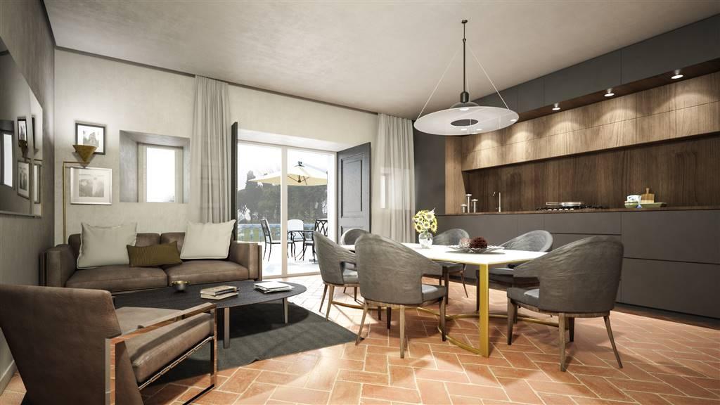 SETTIGNANO, FIRENZE, Appartement des vendre de 125 Mq, Restauré, Chauffage Autonome, par terre Terrains sur 3, composé par: 3 Locals, Kitchenette, ,