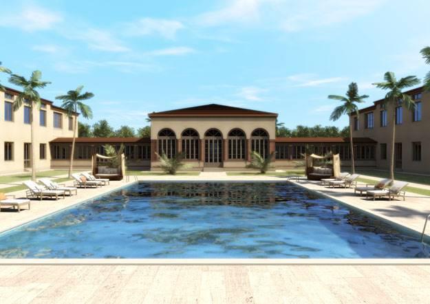 Foto esterni, piscina 1